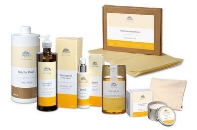 Startset Honig-Massage