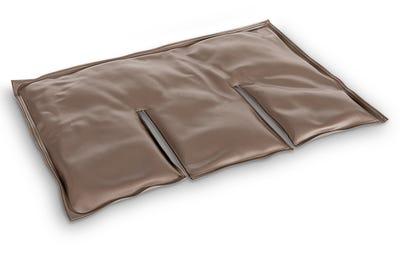 Ergonomischer Wärmeträger für Behandlungen im Schulter & Nackenbereich