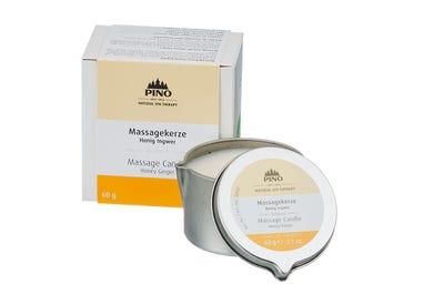 Massagekerze Honig Ingwer