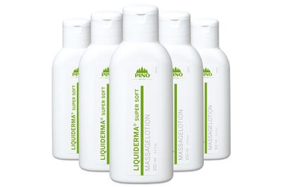LIQUIDERMA Super Soft Massagelotion 6 Stück á 100 ml