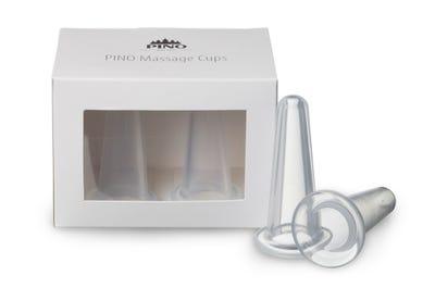 PINO Massage Cups klein, 2 Stück