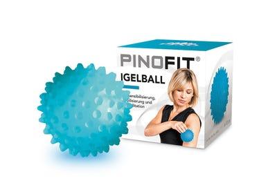 PINOFIT® Igelball transparent azure 60 Stück