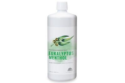 Saunakonzentrat Eucalyptus Menthol für belebende Saunaaufgüsse