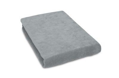 Liegen-Spannbezug 65 cm Breite, light grey