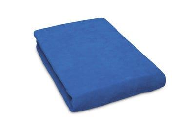 Liegen-Spannbezug 80 cm Breite blue