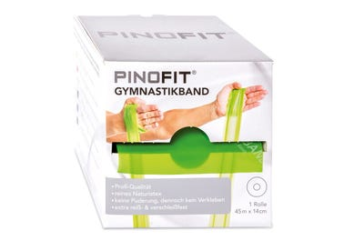 PINOFIT Gymnastikband lime