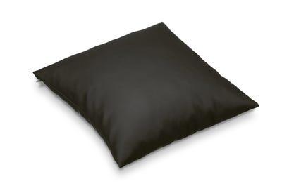 Kopfkissen dark grey 40 x 40 cm in handgenähter Spitzenqualität