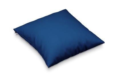 Kopfkissen deep blue 40 x 40 cm in handgenähter Spitzenqualität