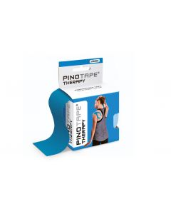Kinesiologie Tape PINOTAPE therapy blue mit Verpackung