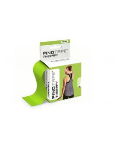 Kinesiologie Tape PINOTAPE therapy lime mit Verpackung