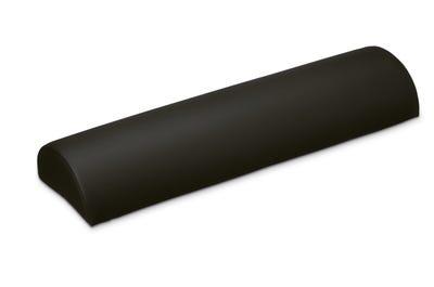 Halbrolle dark grey 50 x 18 x 9 cm in handgenähter Spitzenqualität