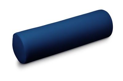 Knierolle deep blue 60 x 15 cm in handgenähter Spitzenqualität