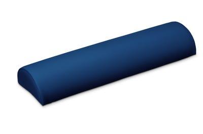 Halbrolle deep blue 50 x 18 x 9 cm in handgenähter Spitzenqualität