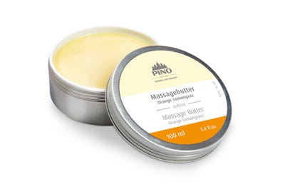 Massagebutter Orange Lemongras 100 ml von Natural Spa Therapy
