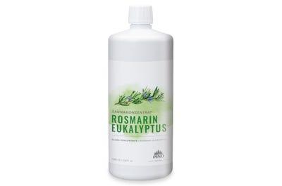 Saunakonzentrat Rosmarin Eukalyptus für erholsame Saunaaufgüsse