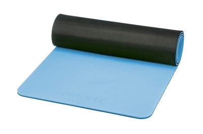 PINOFIT® Gymnastikmatte ice blue/black