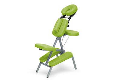 Massagestuhl Aluminium lime