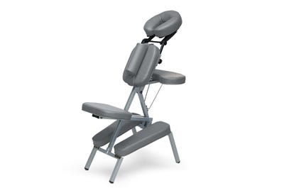 Massagestuhl Aluminium dark grey