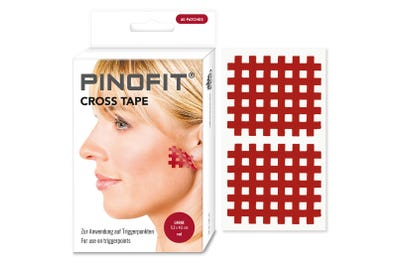 PINOFIT® Cross Tape red, large