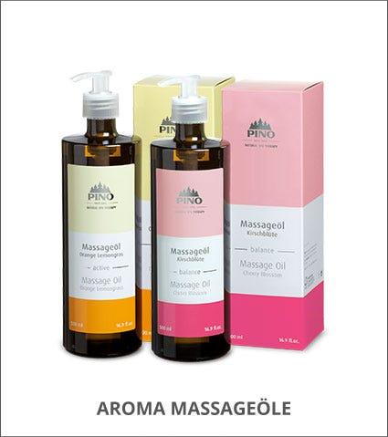 Pino Aroma Massageöle Kategorie
