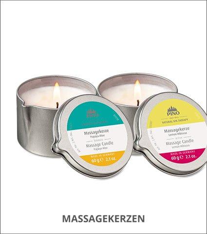 Massagekerzen von Natural Spa Therapy
