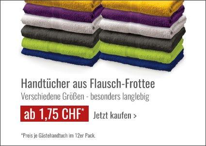 PINO Handtücher aus Flausch-Frottee Angebote