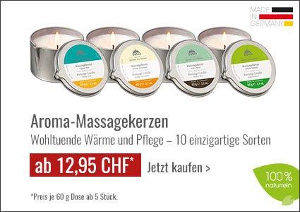 Pino Aroma Massagekerzen Angebote