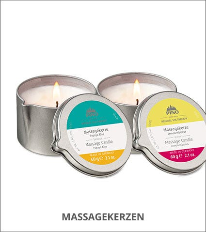 Pino Massagekerzen Kategorie