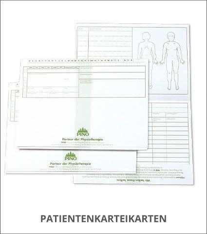 PINO Patientenkarteikarten Kategorie